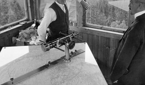 Julius Nygaard - Skjennungsåsen - interiør - Anno Norsk Skogmuseum - 1932
