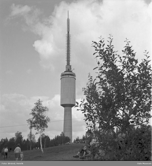 Oslo museum - Tryvannstårnet - fjerde - Henrik Ørsted - 1962
