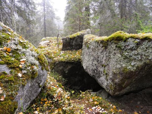 Janhula på Nautsundkollen på Krokskogen - Oslomarka - Fantastiske marka