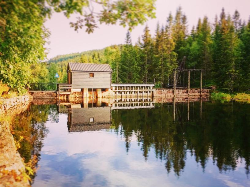 Bjørnsjødemningen i Nordmarka - Bjørnsjøen - Kano - Packraft - Oslomarka - Fantastiske marka