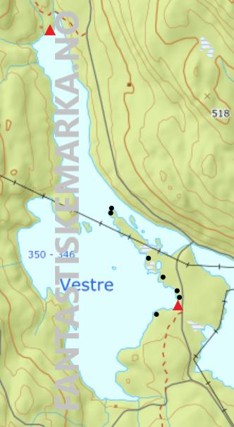 Teltplasser - Hengekøyeplasser - Leirplasser - Vestre Fyllingen - Oslomarka - Nordmarka - Fantastiske marka