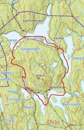 Padlerute - Kikutrunden i Nordmarka - Oslomarka - Packraft - Fantastiske marka