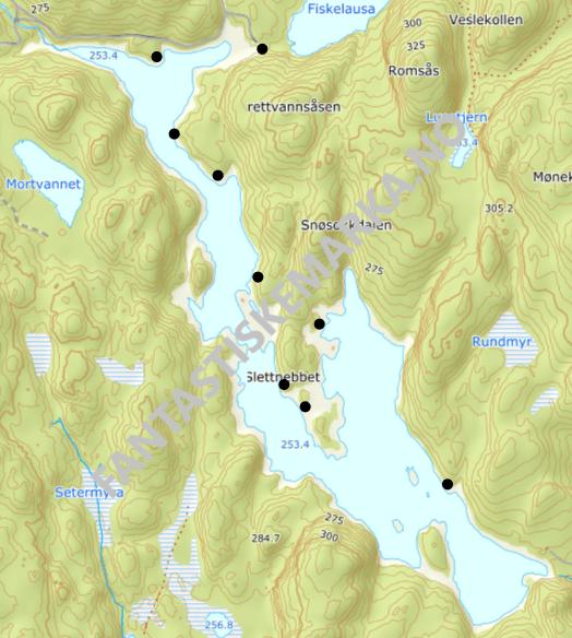 Teltplasser - Hengekøyeturer - Overnattingsturer rundt Drettvannet i Østmarka - Oslomarka - Fantastiske marka
