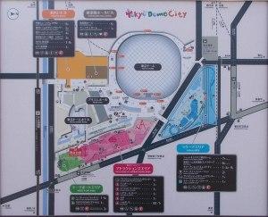 東京ドーム地図