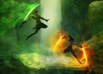 Emerald Blade (Feature)