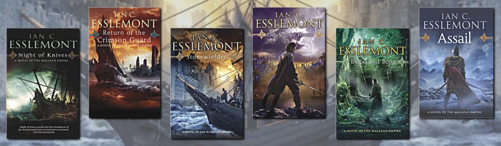 The Malazan Empire by Ian C. Esslemont