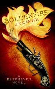 Goldenfire (Darkhaven, #2) by A.F.E. Smith