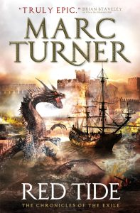 Red Tide (Chronicles of the Exile, #3) by Marc Turner