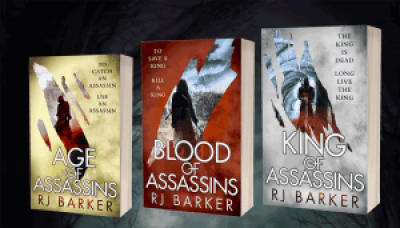 The Wounded Kingdom trilogy by R. J. Barker