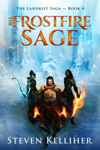The Frostfire Sage (Landkist Saga) by Steven Kelliher