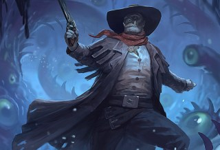 Grimluk Demon Hunter by Ashe Armstrong