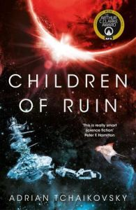 Children of Ruin by Adrian Tchaikovsky (Book Cover)