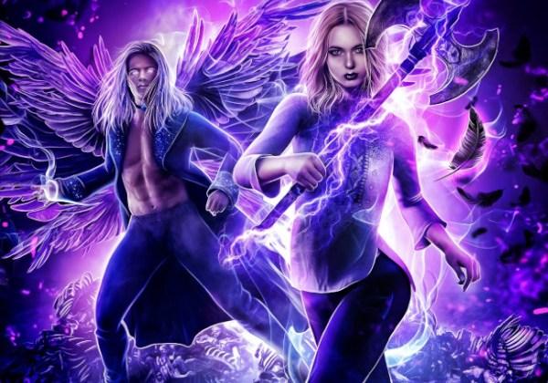 Vampire God (Rebel Angels #5) by Rosemary A. Johns