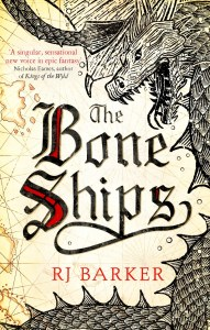 The Bone Ships (Cover) by RJ Barker