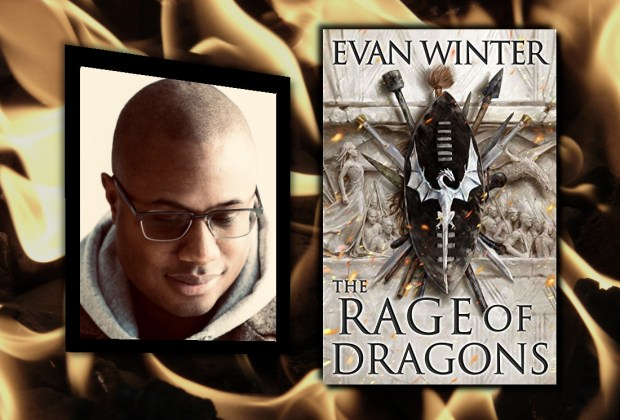 Evan Winter, author of The Rage of Dragons (Fantasy Hive Featured Image)