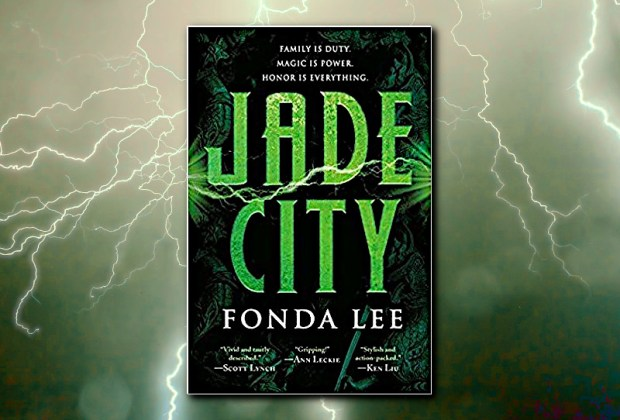 Jade City (Green Bone Saga) by Fonda Lee (Fantasy Hive Featured Image)