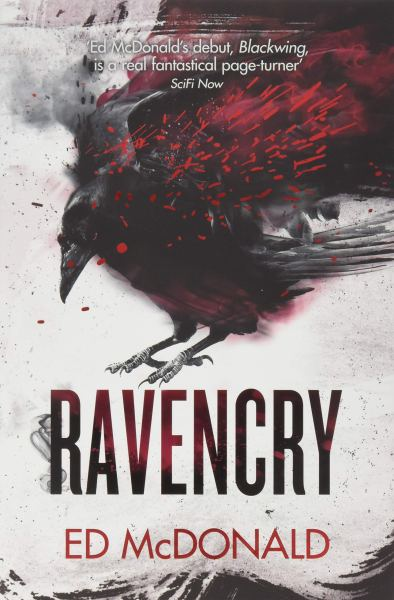 Ravencry (Raven's Mark) by Ed McDonald - cover