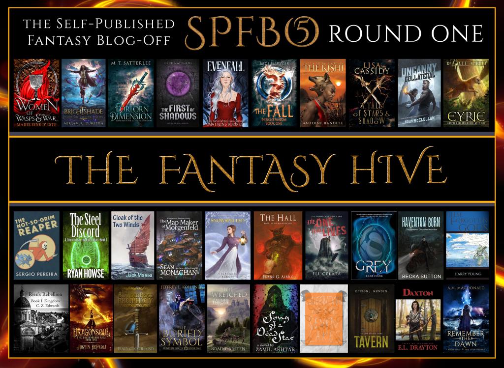 SPFBO 5 Round 1 Graphic - The Fantasy Hive
