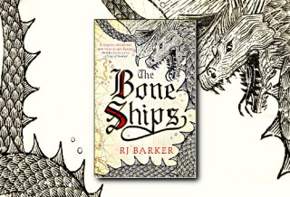 The Bone Ships (Tide Child) by RJ Barker