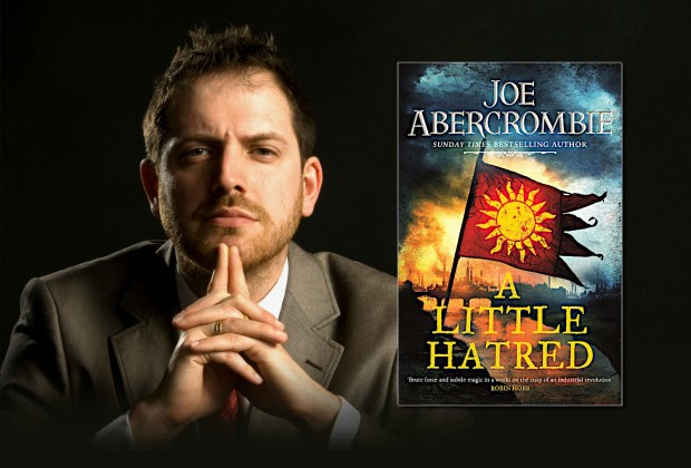 Joe Abercrombie, author of A LITTLE HATRED