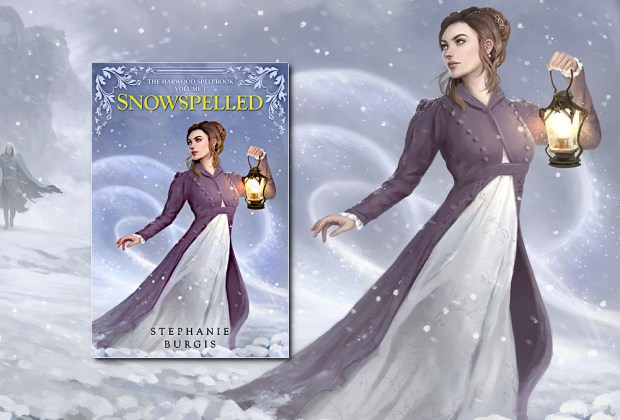 Snowspelled (Harwood Spellbook #1) by Stephanie Burgis