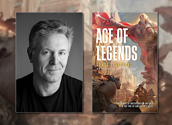 James Lovegrove, author of AGE OF LEGENDS (Pantheon)