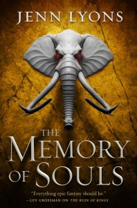 The Memory of Souls (A Chorus of Dragons) by Jenn Lyons