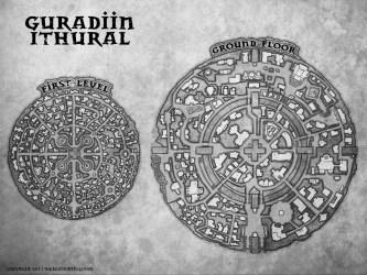 fantasy maps map town illustrations portfolio