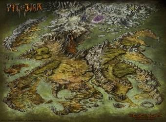 fantasy map maps pit war game deviantart worldmap pathfinder isometric regional concept overview generator cartography medieval herwin wielink maker outcast
