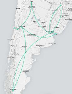 Fantasy Aisle, South America Travels