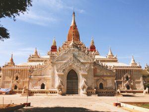 Bagan, Myanmar, Myanmar Tourism, Ananda Temple, Bagan Temple