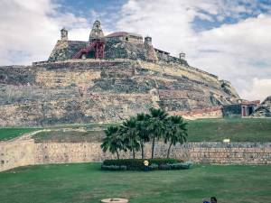 Super-fort Castillo San Felipe, Cartagena, Colombia, Fantasy Aisle Travel