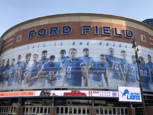Fantasy Aisle, Home of the Detroit Lions, Football Team