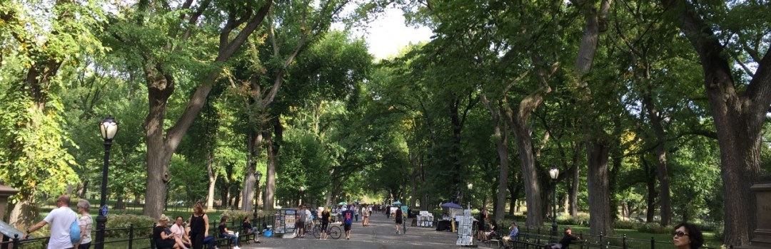 Fantasy Aisle, The Mall and Literary Walk, a favorite of many in Central Park