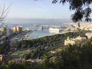 Fantasy Aisle, View of the Port of Málaga, Spain on the Mediterranean Sea