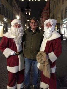 Fantasy Aisle, Santa is everywhere in Heidelberg, Germany