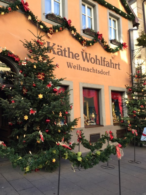 Fantasy Aisle, The famous Christmas store in Rothenburg ob der Tauber