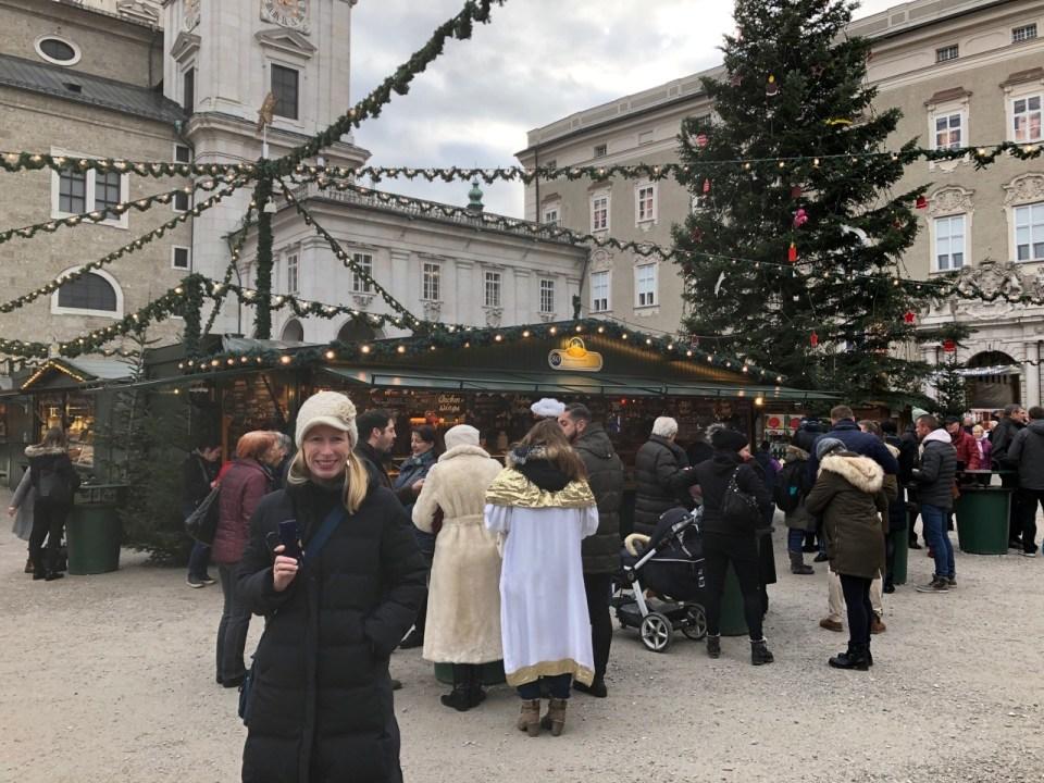 Fantasy Aisle, Enjoying Glühwein in Salzburg, Vienna