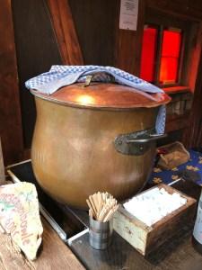 Fantasy Aisle, A cauldron of glühwein in the Renaissance Village Christmas Market in Munich