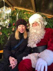 Fantasy Aisle, Visiting Santa in Strasbourg, France