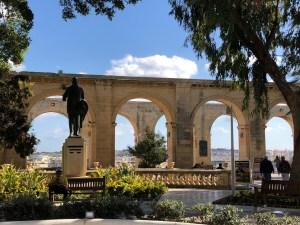 Fantasy Aisle, Upper Barrakka Gardens in Valletta, Malta