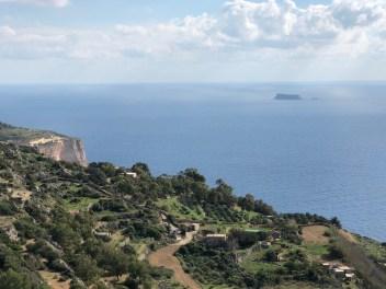 Fantasy Aisle, Dingli Cliffs on Mediterranean Sea of Malta