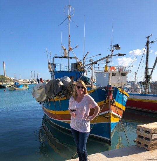 Fantasy Aisle, Fishing Village of Marsaxlokk in the South Eastern part of Malta