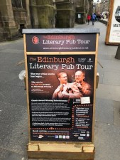 Fantasy Aisle, Edinburgh's famous literary pub tour nightly at 7:30 PM
