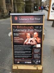 Fantasy Aisle, Edinburgh's famous literary pub tour nightly at 7:30 PM