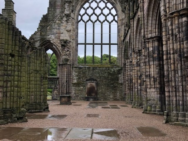 Fantasy Aisle, The Abbey, part of Holyrood Palace dates back to 1128