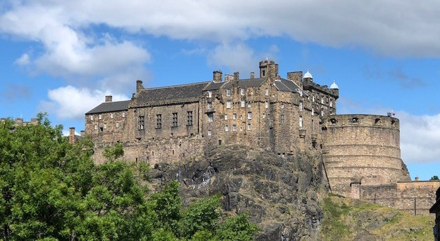Fantasy Aisle, Edinburgh Castle, a Medieval fortress overlooking the city served as a Royal Palace and a Military Complex