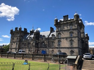 Fantasy Aisle, George Heriot's School or Hogwort's. Believed to be the inspiration for J.K. Rowling's Hogworts