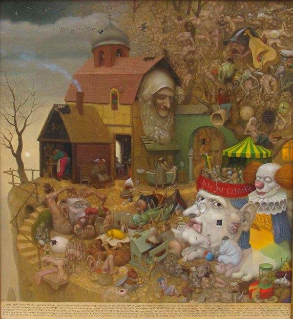 Modern Surrealism Fantasy Art Surrealist