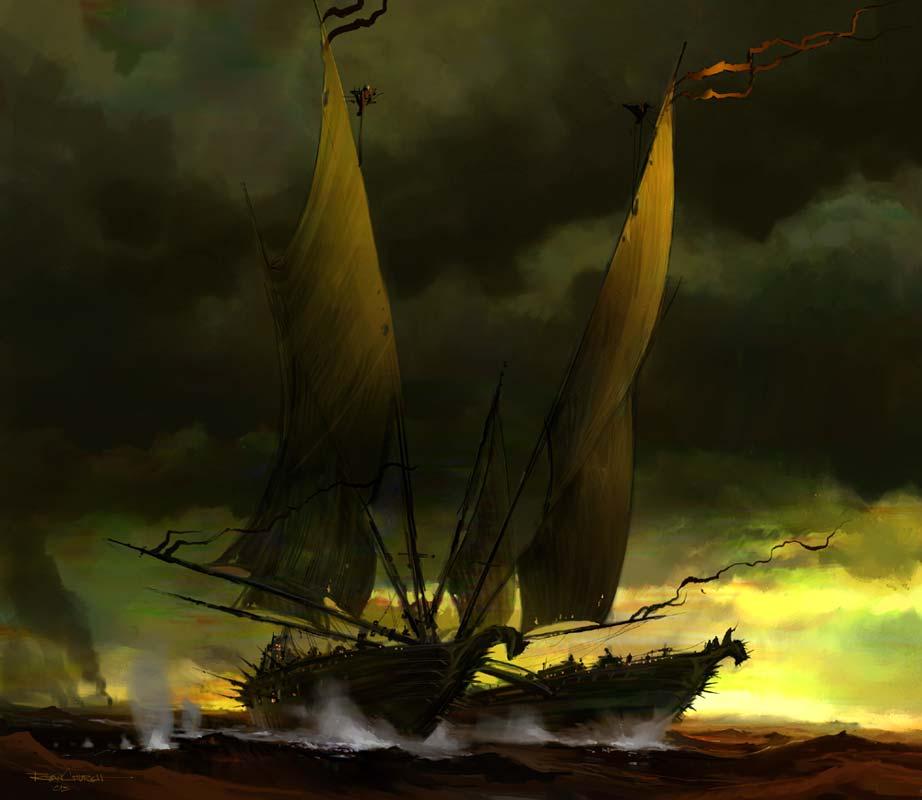 Pirate Catamaran 922 X 800pix Wallpaper Science Fiction